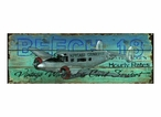Custom Beech 18 Scenic Tours Vintage Style Metal Sign