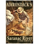 Custom Lg Adirondack's Saranac River Fishing Vintage Style Metal Sign