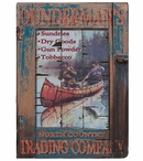 Custom Large Dundermans Trading Company Vintage Style Metal Sign