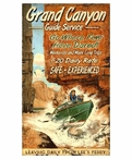 Custom Large Grand Canyon Boating Guide Vintage Style Metal Sign