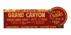 Custom Large Grand Canyon Vintage Style Metal Sign