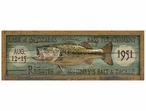Custom Lg Lake of the Ozarks Bass Tournament Vintage Style Wooden Sign