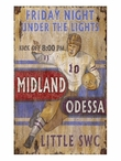 Custom Large SE Football Vintage Style Metal Sign