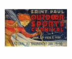 Custom Large St Paul Outdoor Sports Carnival Vintage Style Metal Sign