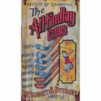 Custom Large The A H Findlay Clubs Vintage Style Metal Sign