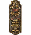 Custom Large The Old Oar House Vintage Style Metal Sign