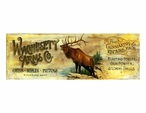 Custom Large Wachusett Arms Co Vintage Style Metal Sign