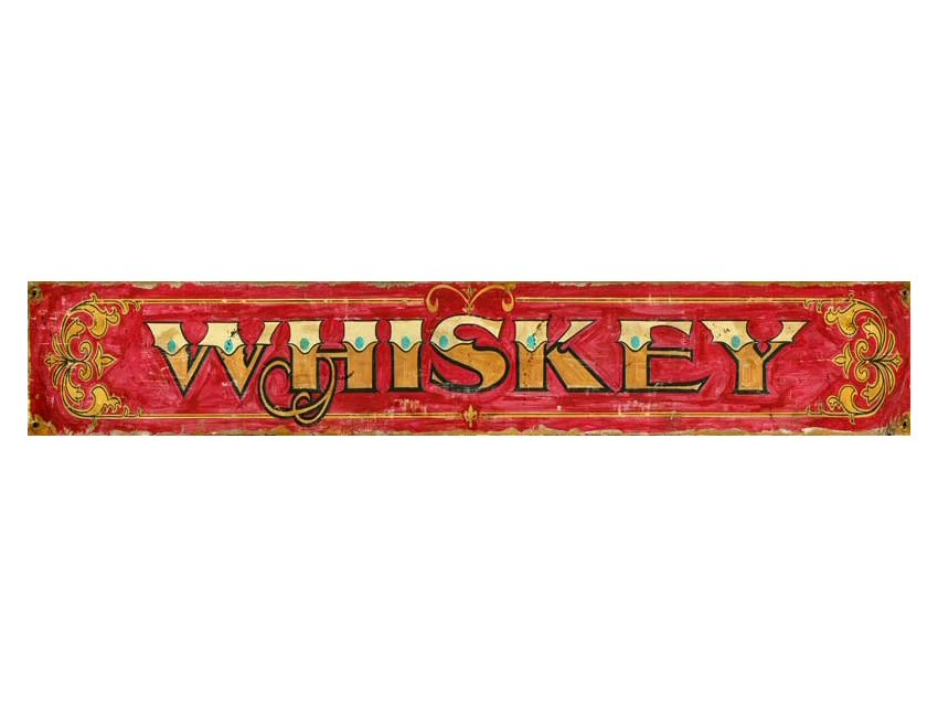 Customizable Whiskey Vintage Style Wooden Sign ...