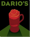 Dario's Wrapped Canvas Giclee Print Wall Art