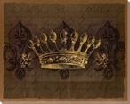 Dark Crowns 1 Wrapped Canvas Giclee Print Wall Art