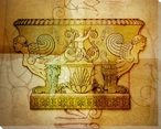 Decorative Urn 2 Wrapped Canvas Giclee Print Wall Art