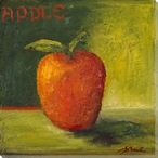 Delicious Apple Wrapped Canvas Giclee Print Wall Art