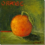 Delicious Orange Wrapped Canvas Giclee Print Wall Art