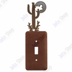 Desert Moon Single Toggle Metal Switch Plate Cover