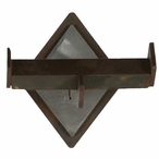 Diamond Bar Metal Robe Hook