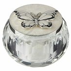 Diamond Butterfly Trinket Box