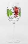 Dionysus Romanian Crystal Pinot Noir Wine Glasses, Set of 4
