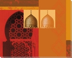 Domes of Marrakesh 2 Wrapped Canvas Giclee Art Print Wall Art