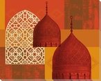 Domes of Marrakesh 3 Wrapped Canvas Giclee Art Print Wall Art