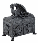 Dragon Chest Shaped Trinket Box