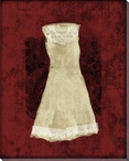 Dress with Lace 1 Wrapped Canvas Giclee Print Wall Art