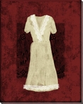 Dress with Lace 3 Wrapped Canvas Giclee Print Wall Art