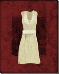 Dress with Lace 4 Wrapped Canvas Giclee Print Wall Art
