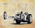 Drive a Dragster Wrapped Canvas Giclee Print Wall Art