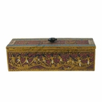 Egyptian Decor Rectangular Trinket Box