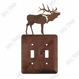 Elk Double Toggle Metal Switch Plate Cover