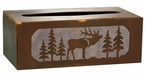 Elk Metal Flat Tissue Box Cover