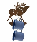 Elk Metal Mug Holder Wall Rack