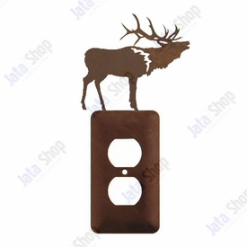 Elk Single Metal Outlet Cover
