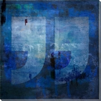 End Quote Symbol Wrapped Canvas Giclee Print Wall Art