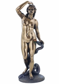 Eve and Snake Sculpture