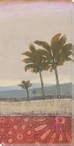 Exotic Palms I Wrapped Canvas Giclee Print Wall Art