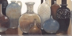 Exotic Urn Collection Wrapped Canvas Giclee Print Wall Art