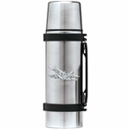 F-18 Hornet Plane Stainless Steel Thermos with Pewter Accent