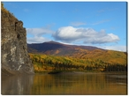 Fall Spectrum Alaskan Landscape Photographic Wrapped Canvas Giclee Art