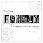 Family Absorbent Beverage Coasters by Jan Shade Beach, Set of 12
