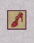 Finishing Touch Red High Heel Shoe Wrapped Canvas Giclee Print