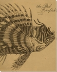 Firefish Etching Wrapped Canvas Giclee Print Wall Art