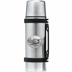 Float Plane Stainless Steel Thermos with Pewter Accent