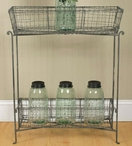 Floor Standing Parkers Catch All Wire Storage Rack