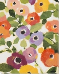Floral Whimsy 2 Wrapped Canvas Giclee Print Wall Art