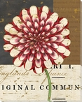 Floricultural Cabinet 1835 Flower 2 Wrapped Canvas Giclee Art Print
