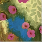 Flowering Relationship 1 Wrapped Canvas Giclee Print Wall Art