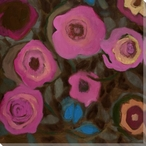 Flowering Relationship 2 Wrapped Canvas Giclee Print Wall Art
