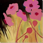 Flowering Relationship 5 Wrapped Canvas Giclee Print Wall Art