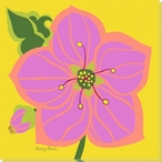 Flowers Tropical Wrapped Canvas Giclee Print Wall Art
